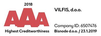 Vilfis d.o.o. bonitetna ocena
